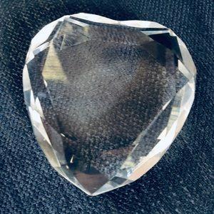 Rosenthal Cut Crystal Heart